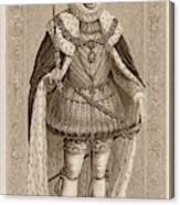 James I Of England James Vi Of Scotland Canvas Print