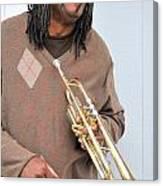 Jazz Musician. Canvas Print