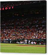 Kansas City Royals V St. Louis Cardinals Canvas Print
