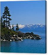 Lake Tahoe Photography Art Canvas Print