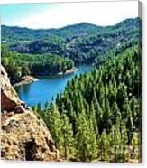 Landscape Amazing Colors Mountains Canvas Print
