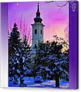 Christmas Card 23 Canvas Print