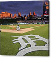 Minnesota Twins V Detroit Tigers Canvas Print