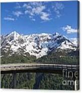 Mountain Road Canvas Print