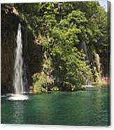 Plitvice Lakes National Park Croatia Canvas Print