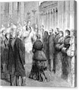 Queen Victoria (1819-1901) Canvas Print