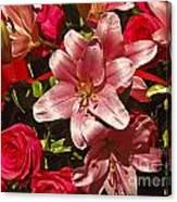 Rose Parade  Canvas Print