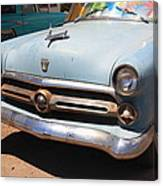 Route 66 Classic Car Canvas Print