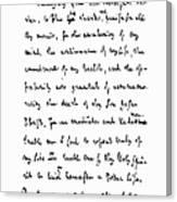 Samuel Johnson (1709-1784) Canvas Print