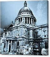 St Paul's Cathedral London Art Canvas Print
