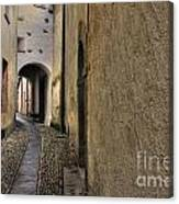 Tight Alley Canvas Print