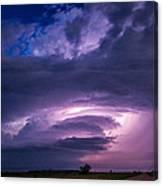 Wicked Good Nebraska Supercell Canvas Print