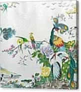 100 Birds Canvas Print