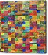 100 Flags Canvas Print