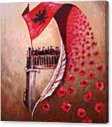 100 Vjetori I Pavaresis Se Shqiperise  Canvas Print