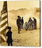100th Anniversary Of Deactivation Ft. Lowell Tucson Arizona 1991 Toned 2008 Canvas Print