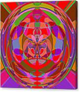 1015 Abstract Thought Canvas Print