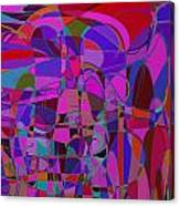 1016 Abstract Thought Canvas Print
