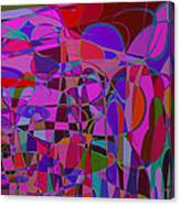 1017 Abstract Thought Canvas Print