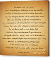 104- Theodore Roosevelt Canvas Print