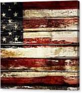 American Flag 33 Canvas Print