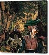 Dachshund Art Canvas Print  Canvas Print
