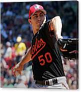 Baltimore Orioles V Boston Red Sox - Canvas Print
