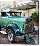 Custom Truck Canvas Print