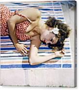 Dorothy Lamour Canvas Print