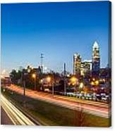 Early Morning In Charlotte Nc Canvas Print