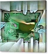#11 Elusivenudescape 2003 Canvas Print
