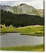 Engineer Pass In Colorado  Canvas Print