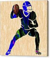 Football Canvas Print
