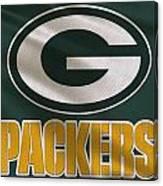 Green Bay Packers Uniform Canvas Print
