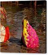 Hampi Ghats Canvas Print