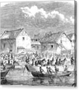 Second Opium War, 1860 Canvas Print
