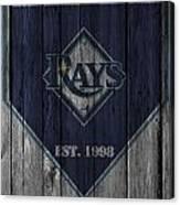 Tampa Bay Rays Canvas Print