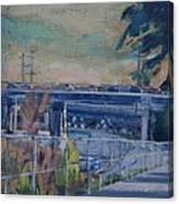 110 Freeway South II Canvas Print