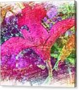 The Red Orchid Canvas Print