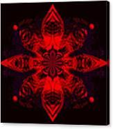 1107 - Mandala Red   Canvas Print