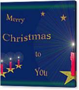 117 - Christmas Card Canvas Print