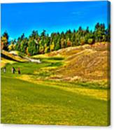 #12 At Chambers Bay Golf Course - Location Of The 2015 U.s. Open Championship Canvas Print