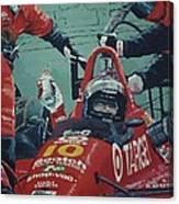 Automobile Racing Canvas Print