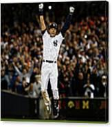 Baltimore Orioles V New York Yankees Canvas Print