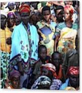 Burundi-peace Canvas Print