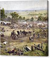 Civil War Gettysburg Canvas Print