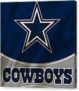 Dallas Cowboys Uniform Canvas Print