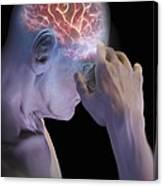 Head Pain Canvas Print