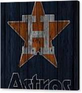 Houston Astros Canvas Print