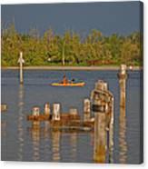 12- Kayak Canvas Print